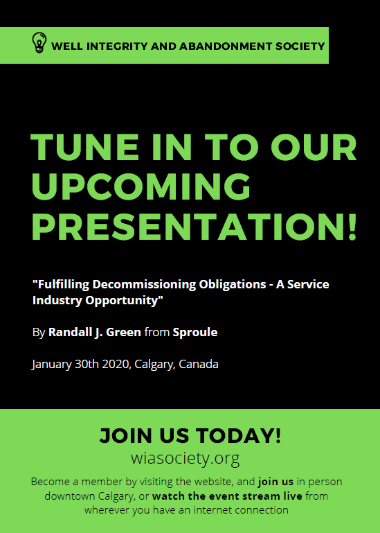 Fulfilling Decommissioning Obligations – A Service Industry Opportunity