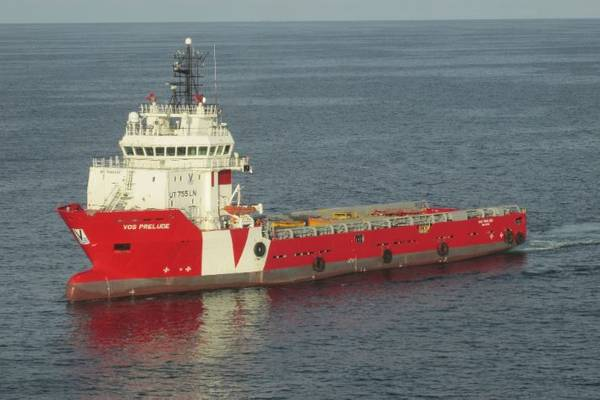 Eni Charters Vroon PSV for Long-Term P&A Work in UK