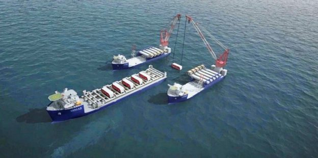 China resumes work on giant heavy-lift vessel