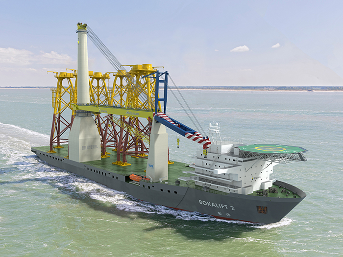 Boskalis uses Wärtsilä thruster solutions in crane vessel project