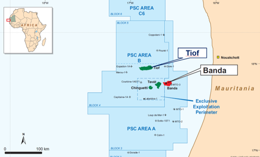 Maersk Decom P&A Services for Tullow's Mauritania Wells