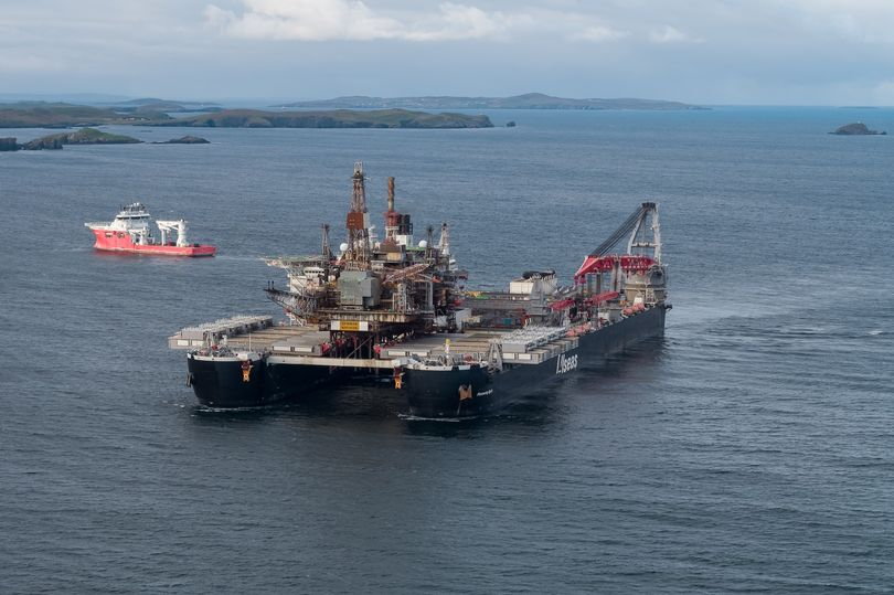 Super-size Lerwick decom pad takes delivery of its first oil platform