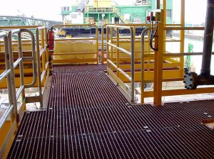 14 grp grating industrial stength flooring for platforms rigs shipping 300x224