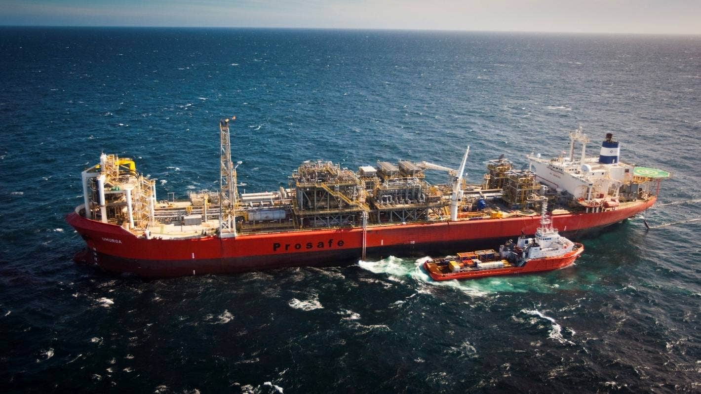 Tui oil field decommissioning project almost complete